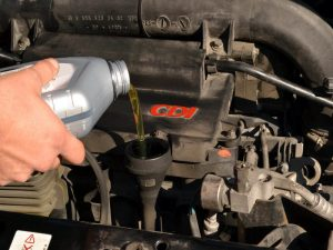 changing your cars transmission fluid and oil